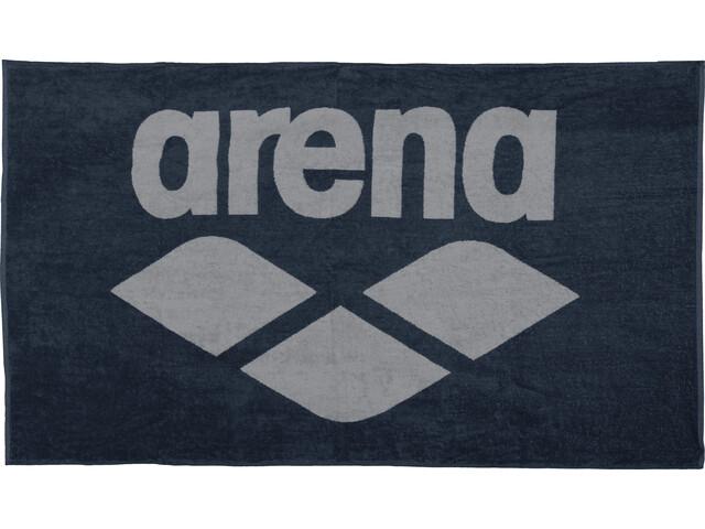 arena Pool Soft Handdoek, navy-grey